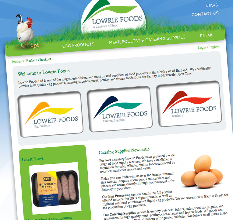 Lowrie Foods • Catering Supplies